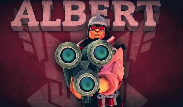 Novo combatente para o hilário FPs multiplayer (Foto: Divulgação / Gameloft)