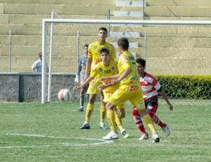 Mirassol sub-15, contra o Linense, pelo Paulista (Foto: Vinicius de Paula / Agência Mirassol FC)