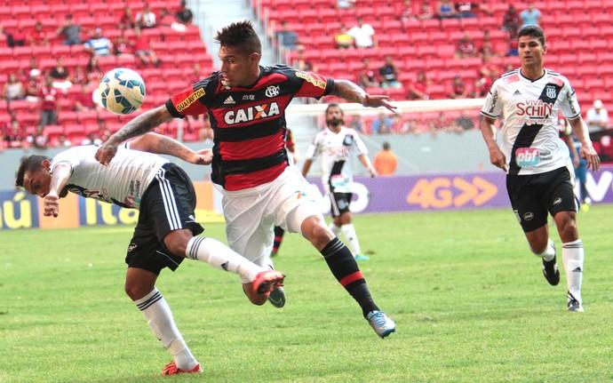 Guerrero, Flamengo X Ponte Preta (Foto: Felipe Costa / Futura Press)