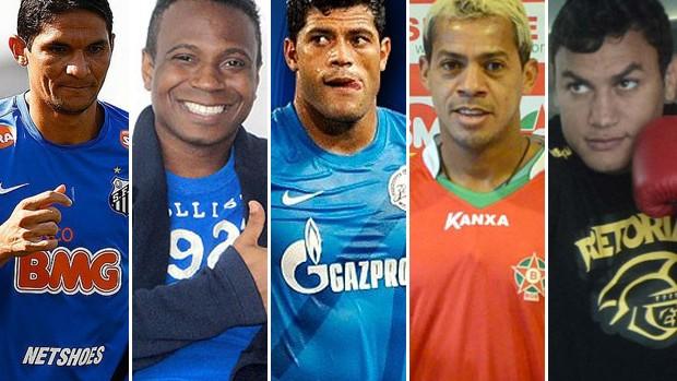 Jogo das Estrelas, em João Pessoa (Foto: Montagem / Globoesporte.com/pb)