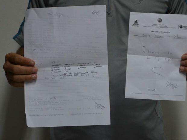 Médico acredita ter havido 'desencontro de informação'  (Foto: Yuri Marcel/G1)