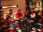 Enzo comemora aniversário com os pais, Claudia Raia e Edson Celulari