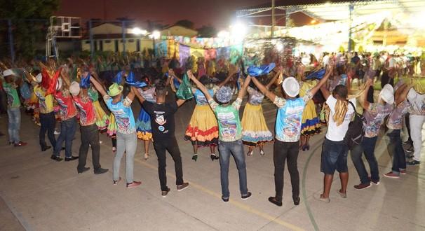Grupo ressalta a importância do Festiva Clube de Quadrilhas (Foto: Luar do São João)