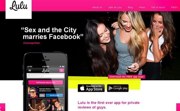 Home - aplicativo Lulu (Foto: Reprodução)