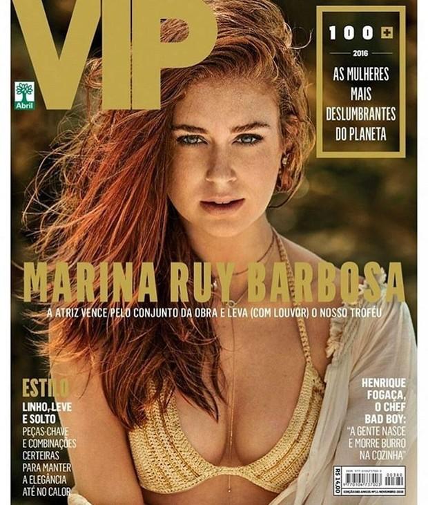 Marina Ruy Barbosa na capa da revista VIP (Foto: Reprodução/Yuri Sardenberg e Aninha Monteiro)