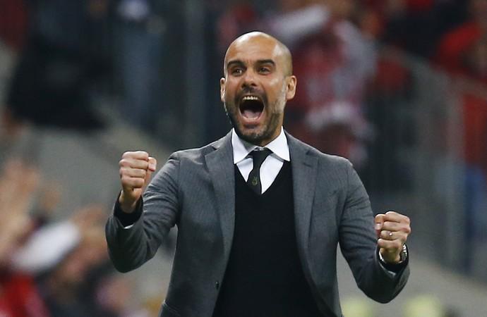 Guardiola Bayern x Porto (Foto: Reuters)