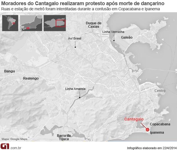 Mapa arte Pavão-Pavãozinho (Foto: Editoria de Arte / G1)