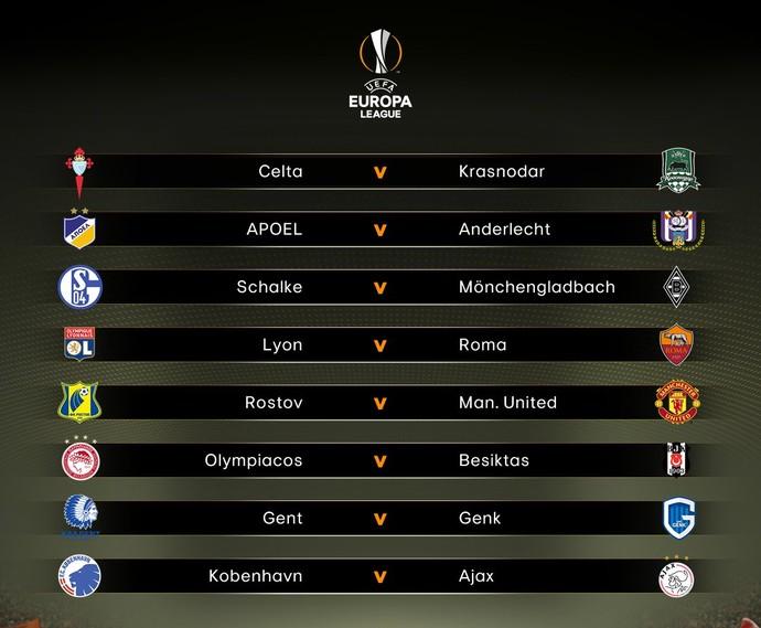 Liga Europa (Foto: Reprodução/Twitter)