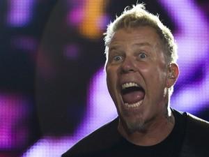 Metallica faz show no Rock in Rio com 30 anos de carreira (Foto: AP)