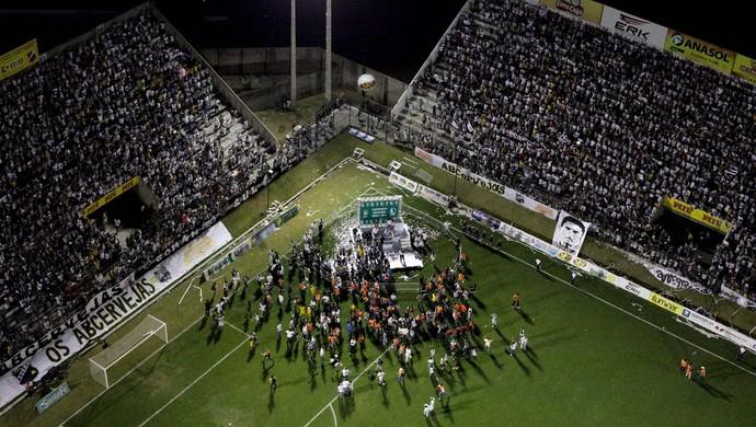 ABC 100 anos - comemoração - ABC campeão brasileiro Série C 2010 - Estádio Frasqueirão (Foto: Demis Roussos)