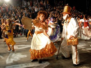 Carnaval em Montevidéu, no Uruguai (Foto: Divulgação/Descubrí Montevideo)