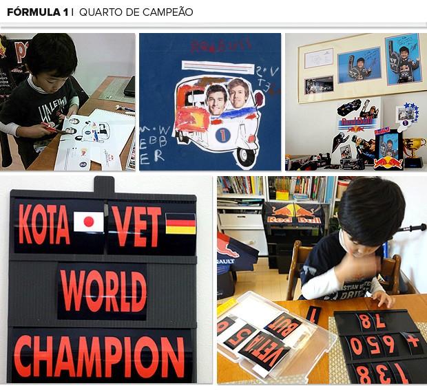 Mosaico Kotta criança quartos RBR (Foto: Editoria de Arte)