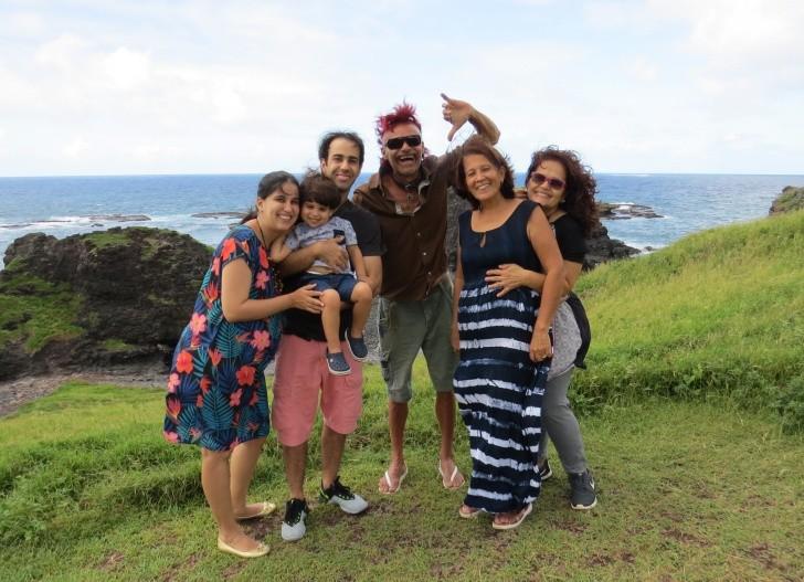 Danilo França e família