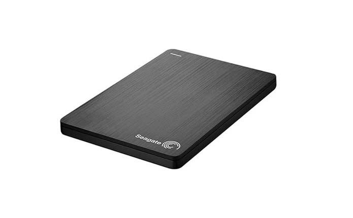 HD externo oferece 500 GB de armazenamento e design compacto slim (Foto: Divulgação/Seagate)
