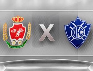 Real Noroeste X Vitória (Foto: Globoesporte.com)