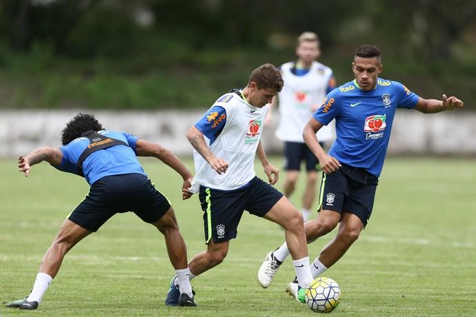 Matheus Sávio Brasil seleção sub-20 (Foto: Lucas Figueiredo/CBF)