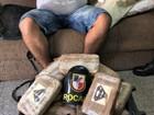 PM apreende 30 kg de drogas com símbolo do 'Superman', em Manaus