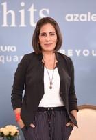 Glória Pires diz no SPFW: 'Não gosto de brilho, prefiro roupas sóbrias'