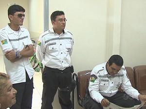 Agentes de Trânsito (Foto: Reprodução/TV Acre)