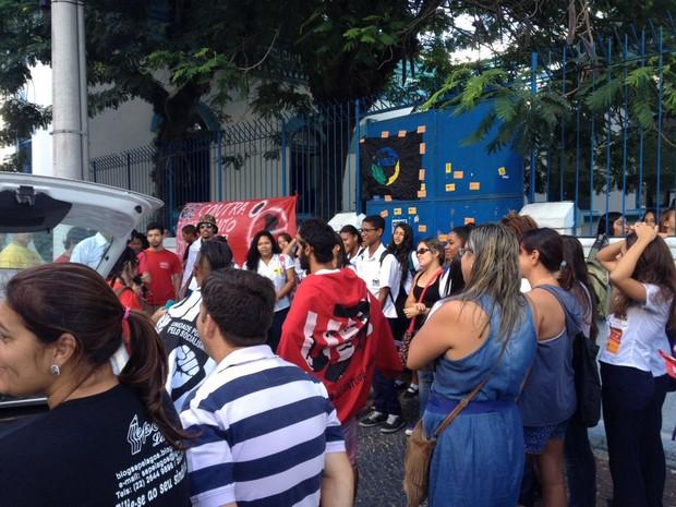 Ato aconteceu nesta terça-feira em Cabo Frio (Foto: Divulgação/ Polícia Militar)