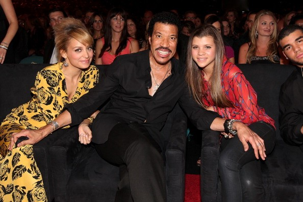 Nicole, Lionel e Sofia Richie (Foto: Getty Images)
