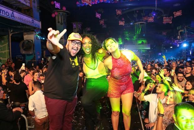 Tiago Abravanel, Cris Vianna e Carol Sampaio (Foto: Reginaldo Teixeira/Divulgação)