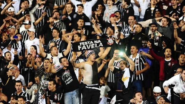 Torcida, Corinthians x São Paulo - final Recopa (Foto: Marcos Ribolli)