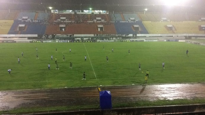 Operário-MS x Costa Rica-MS estádio Morenão (Foto: Carol Lacerda/TV Morena)
