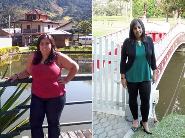"""Com 64 kg, Andresa está liberada pelo médico para tentar engravidar mais uma vez. """"Sou uma pessoa alegre e estou muito feliz com a minha vida"""", conclui a carioca (Foto: Arquivo pessoal/Andresa Gravino Corrêa)"""