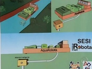 Projeto aponta solução para prevenir enchentes (Foto: Reprodução / TV TEM)