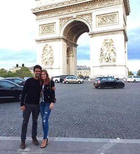 Xandinho Negrão e Marina Ruy Barbosa em Paris (Foto: Reprodução/Instagram)