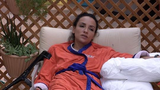 Marinalva fala do interesse de Marcos por Emilly: 'Para ele poderia ser qualquer uma'
