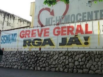 Fórum Sindical diz que greve engloba 28 categorias em MT (Foto: Luiz Gonzaga Neto/TVCA)