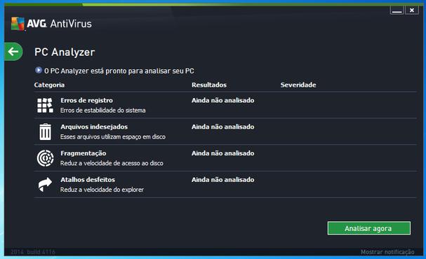 screenshot de AVG AntiVirus