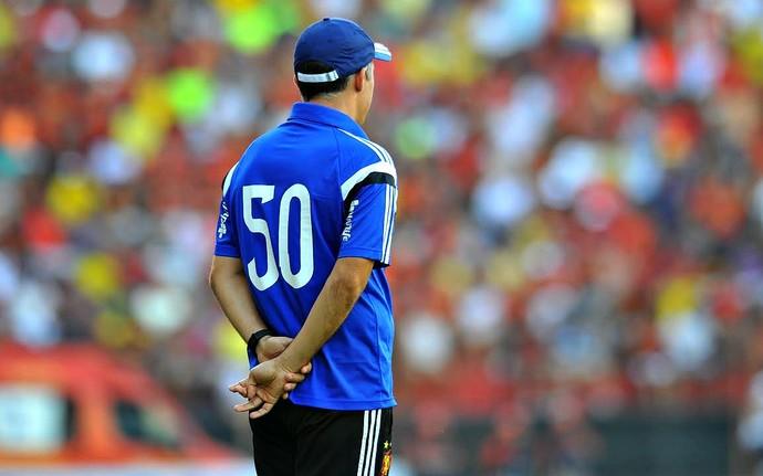 Eduardo Baptista Sport x Coritiba Série A (Foto: Aldo Carneiro / Pernambuco Press)
