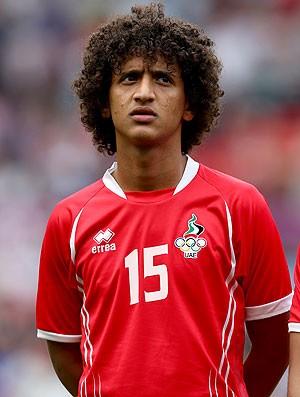 Omar Abdulrahman meia dos Emirados Árabes (Foto: Getty Images)