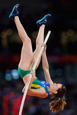 Fabiana Murer salto com vara mundial pequim (Foto: Getty Images)