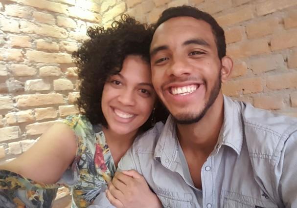 Robert Almeida e Camila Souza (Foto: Arquivo pessoal)