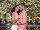 Débora Nascimento e José Loreto estrelam campanha juntos