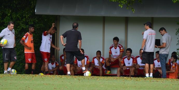 grupo São Paulo treino jogadores São Paulo Muricy (Foto: site oficial / saopaulofc.net)
