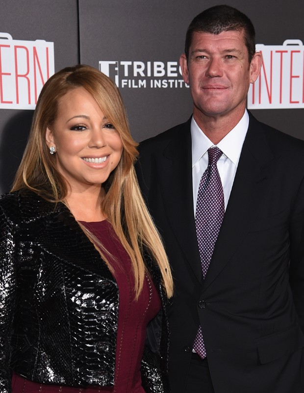 Mariah Carey fica noiva do bilionário australiano James Packer