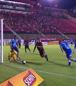 Vitória x Flamengo de Guanambi (Foto: Reprodução)