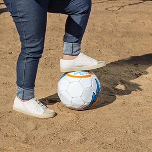 Tênis multiuso: para ser a dona da bola (Foto: Émerson Fraga)
