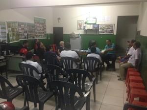 reunião LDC  (Foto: André Ráguine / GloboEsporte.com)