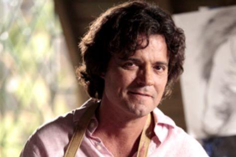 Felipe Camargo é Perácio em 'Sangue bom' (Foto: TV Globo)