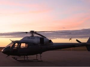 Helicóptero que desapareceu no interior de Amazonas (Foto: Arquivo Pessoal/ Helton Freire)