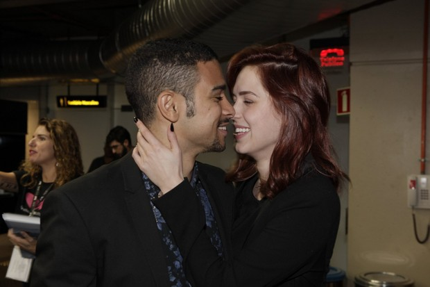 Sérgio Malheiros e Sophia Abrahão (Foto: Isac Luz / EGO)