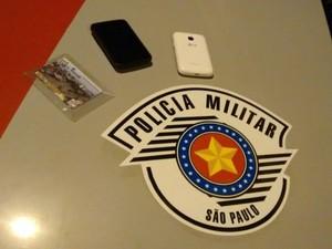 Objetos foram recuperados (Foto: Divulgação / Polícia Militar)