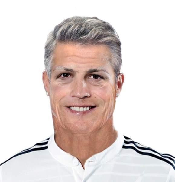 Cristiano Ronaldo envelhecido 65 anos