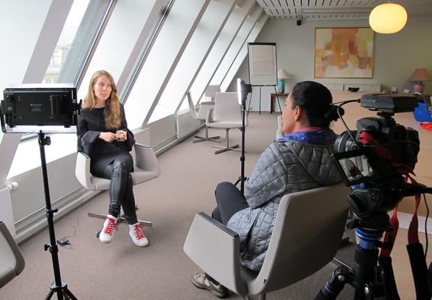 Siv Isabel Eide, diretora para Startups da Innovation Norway (Foto: The Girls on the Road)